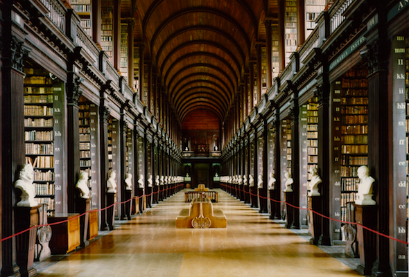Long Room in Trinity