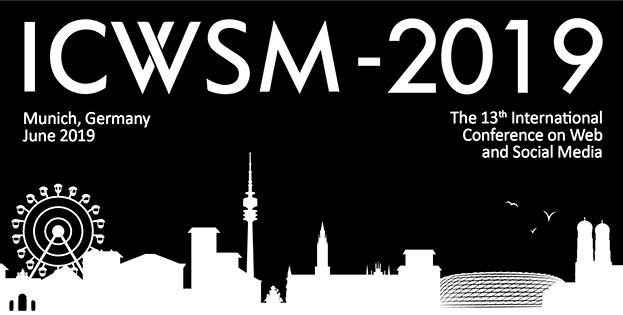 ICWSM-19 - Program - Workshop